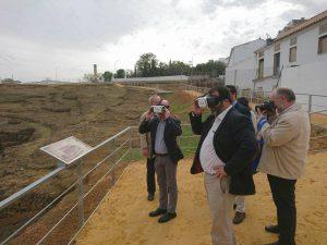 Inauguración de la visita al Anfiteatro del Conjunto Arqueológico de Carmona